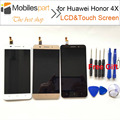 Tela lcd para huawei honor 4x new alta qualidade assembléia substituição display lcd + touch screen para huawei honor 4x frete grátis