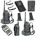 2x BAOFENG BF-888S UHF 400-470MHz 5W 16CH Ham Two Way Radio Walkie/Talkie OB0534