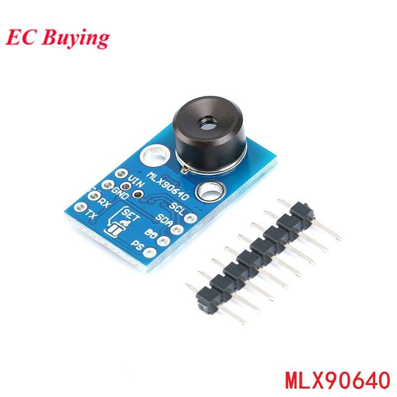 MLX90640 Module de caméra IR 32*24 GY-MCU90640 capteur thermométrique à matrice de points infrarouge 32x24 Module de capteur MLX90640BAA