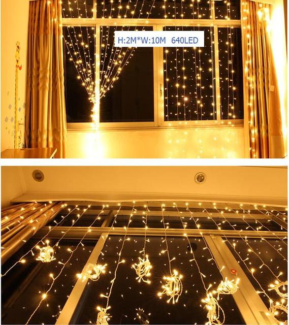 Curtains Ideas curtain lights for bedroom : Aliexpress.com : Buy Outdoor 1M * 10M 640 Led Curtain Light ...
