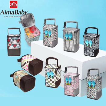 Portable Baby Feeding Milk Bottle Warmer Thermal Mummy Bottle Insulation Tote Hang Bag  for Baby Bottles Bolsa Termica Thermos