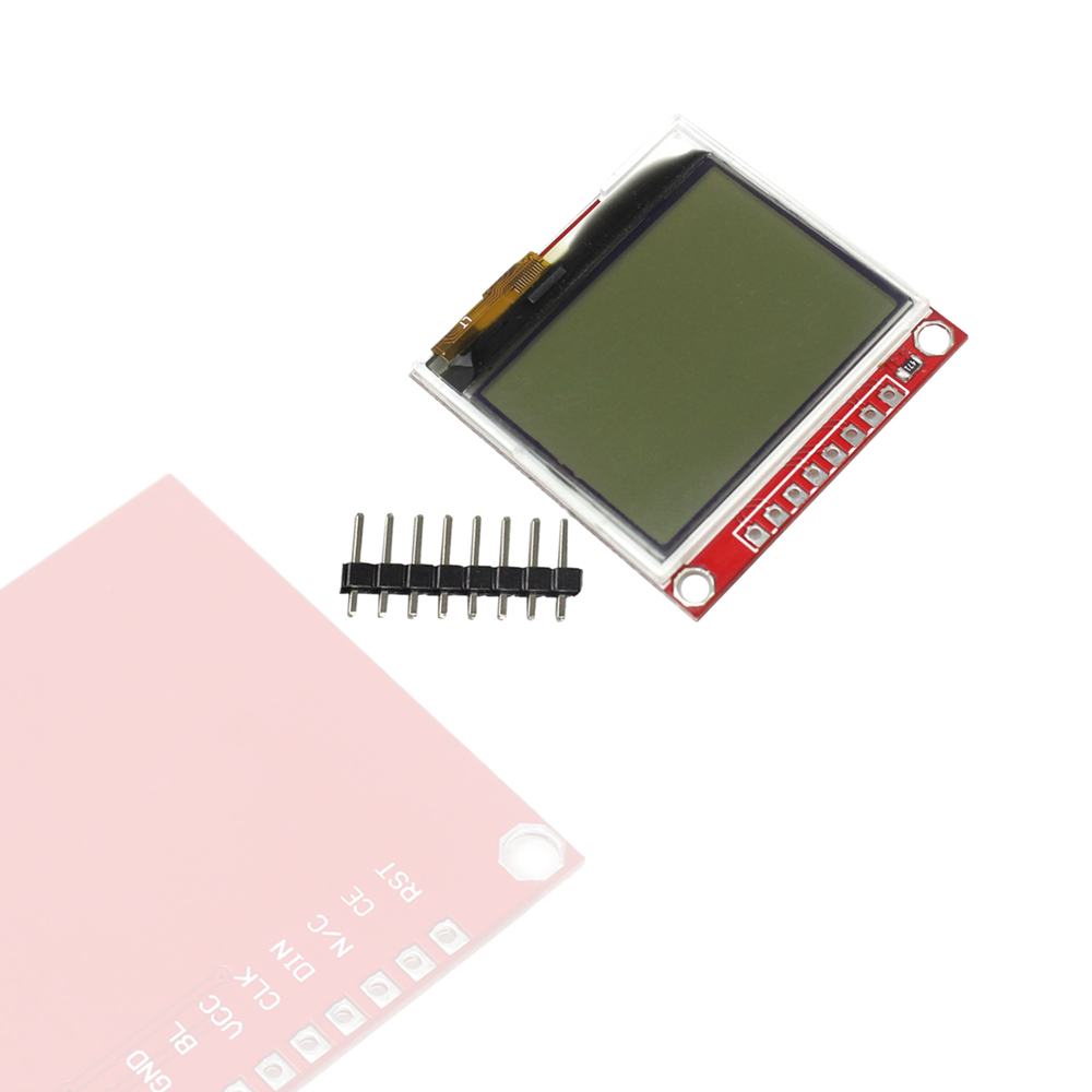 3.3V Upgrades 5110 LCD Module Display Monitor HX1230 96x68 Picture Text Display3.3V Upgrades 5110 LCD Module Display Monitor HX1230 96x68 Picture Text Display
