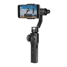 Zhiyun Smooth 4 3-Axis Focus Pull & Zoom Capability Handhållen Gimbal Stabilizer för iPhone Samsung HUAWEI telefon