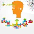 Lagopus educación temprana cubo rompecabezas juguetes Varieti B & lock desarrollo lógica Thicking juguetes de madera regalo para niños - 6