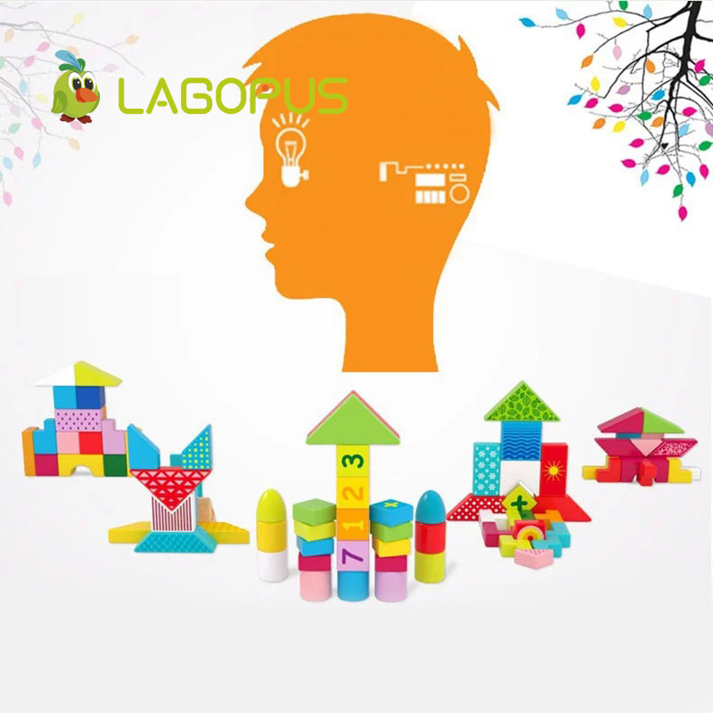 lagopus Early Education Cube puzzle toys Varieti B&lock Developing Logic Thicking Wooden Toys gift for Kids Children's - 6
