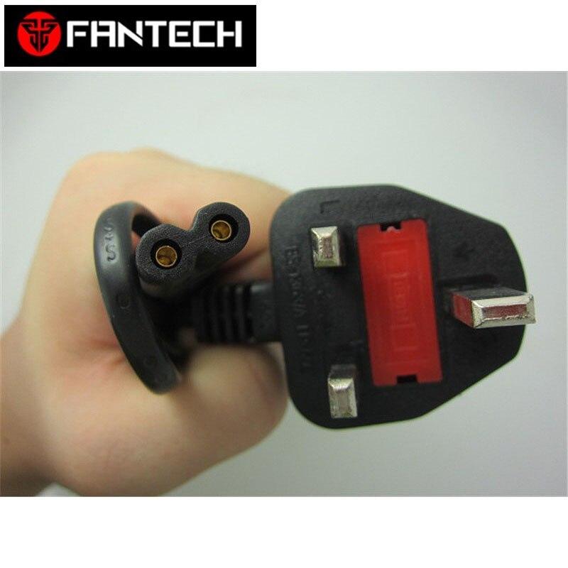 UK Plug 2Pin Power Cord Cable 2 Prong Laptop AC Adapter Lead 2 Pin Figure 8 Power Adapter Cable power cable 003