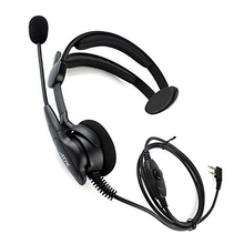 Микрофон PTT High-Динамик Анти-шум анти-борцовка гарнитура для рации двухстороннее радио KENWOOD Baofeng UV-5R