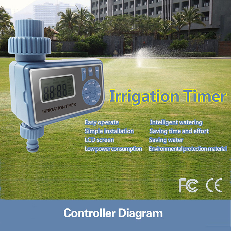 Automatic Electronic Smart Digital Water Timer Irrigation Controller System Garden Watering Timer Home in Garden Water Timers from Home Garden