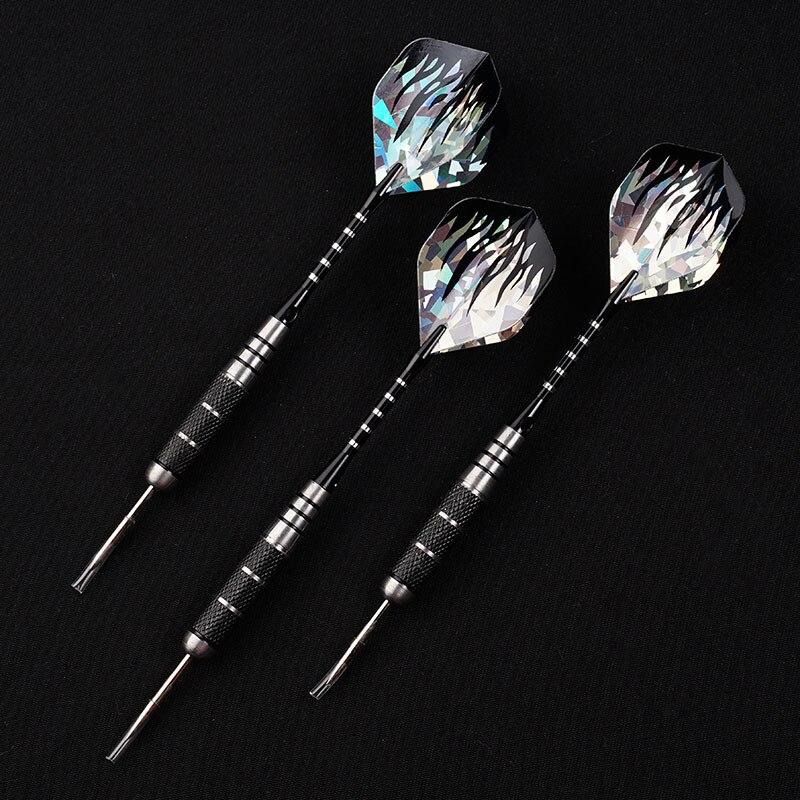 New 3pcs/Set 22g Professional Tungsten Steel Needle Tip Darts With Dart Flights Sports Darts Shafts