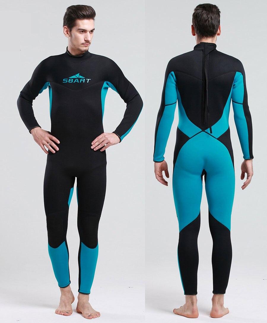 Combinaison homme 3mm Premium néoprène combinaison pour plongée combinaison humide pleine peau de sport complet combinaisons adultes