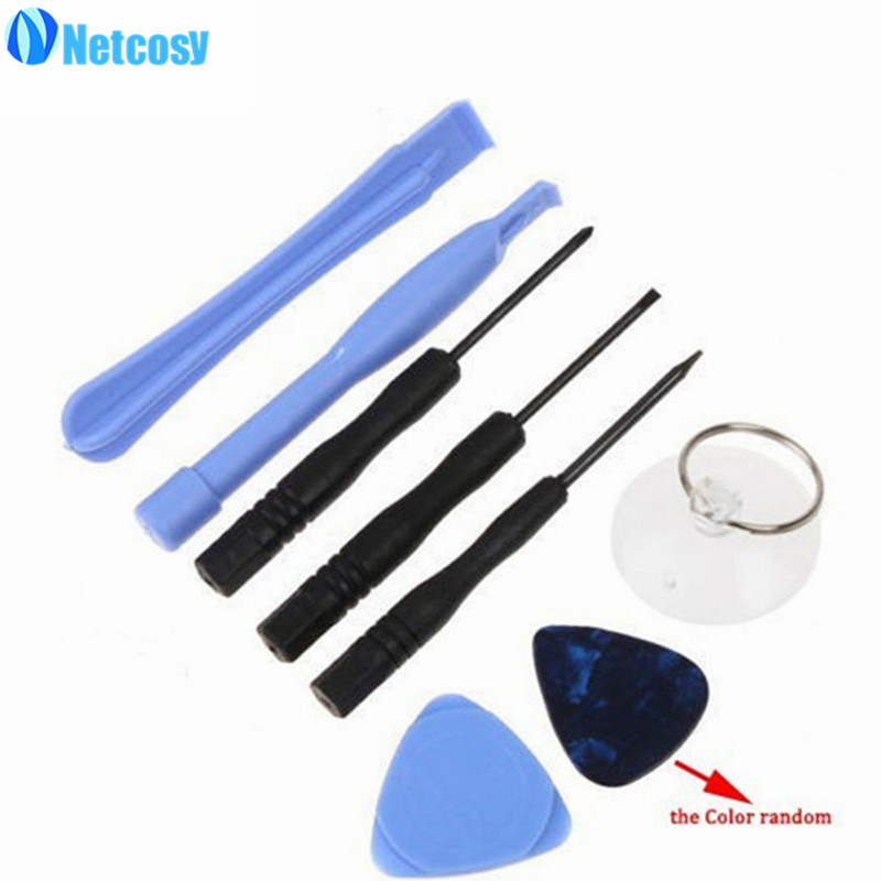 Netcosy 100 Pcs/lot Screwdriver Opening Pry Tool Repair Kit Set For iPhone 6 6Plus 5 5s 4 4S For iPod Touch By DHL