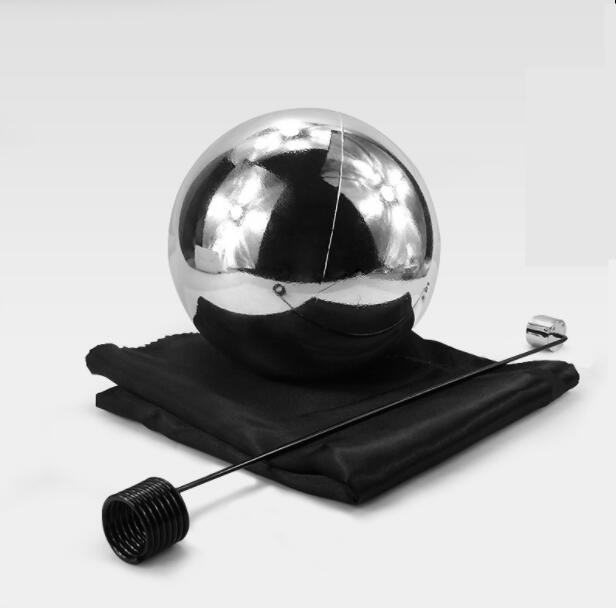 цена на Free shipping 12cm Zombie Ball With Foulard Floating Magic Tricks Magician Stage Gimmick Illusion Fun Magia Toys Classic Magie
