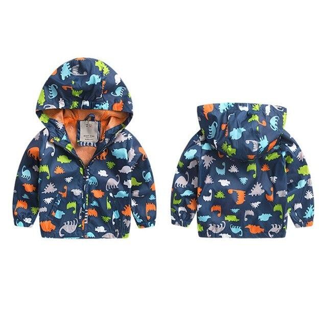 Мальчик Осень Зима Куртки С Длинными Рукавами Куртка Softshell Дети Активные Капюшоном Пальто 2-6 Лет