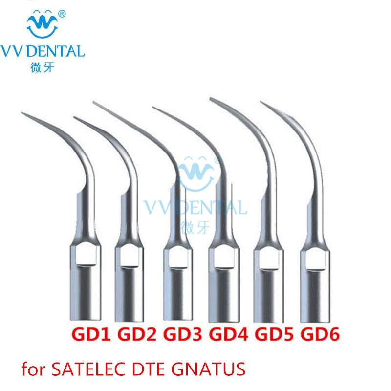 Ultrasonic Dental Scaler Laboratory Equipment Tip GD1 GD2 GD3 GD4 GD5 GD6 Compatible With SATELEC/DTE/GNATUS