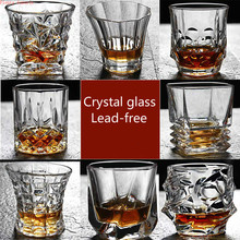 new Classical Creative wine whisky crystal glasses suit personality European spirits Beer bar glass Cup party drinking Healthy