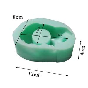 Image 5 - בטון תבניות עבור פמוט סיליקון פמוט תבניות טיח חתול עציץ תבניות