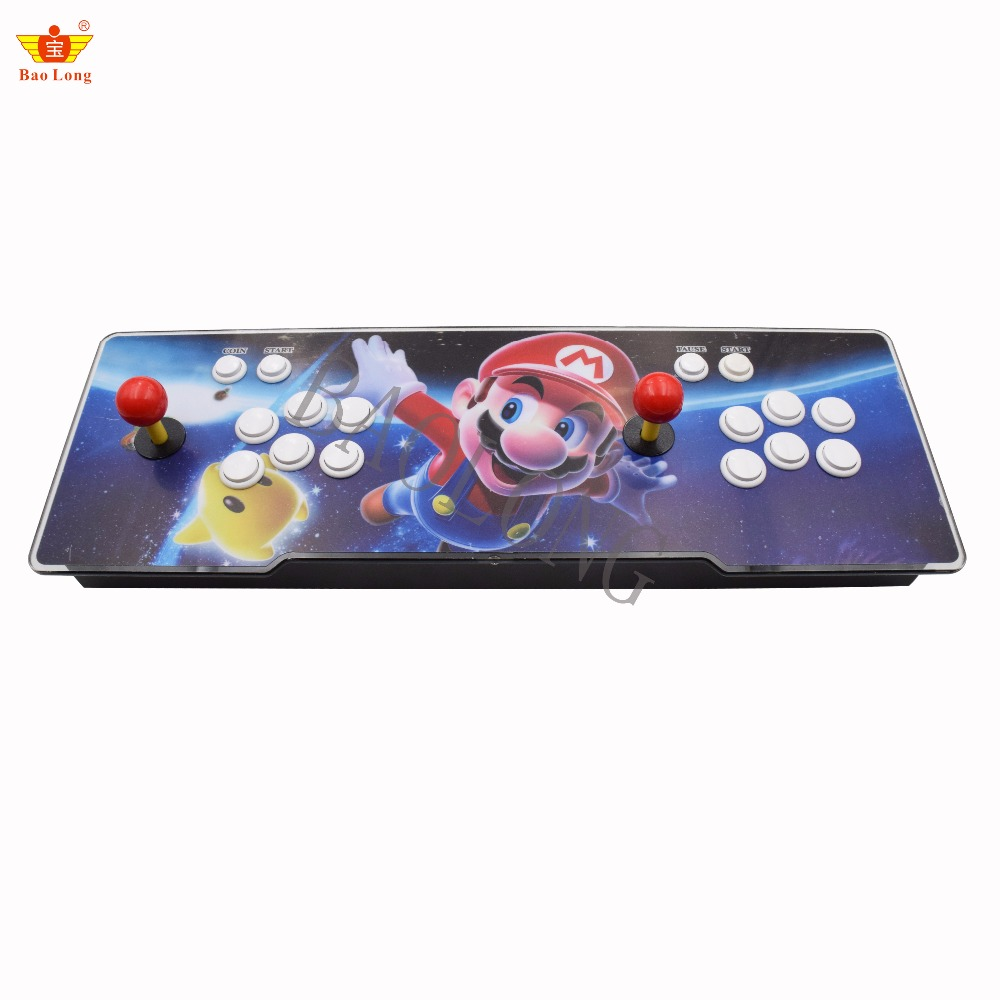 BAOLONG Box 5S+ 999/1299/1388 in 1 fighting jamma Arcade Game Console for TV PC PS3 Monitor Support HDMI VGA USB out put цена