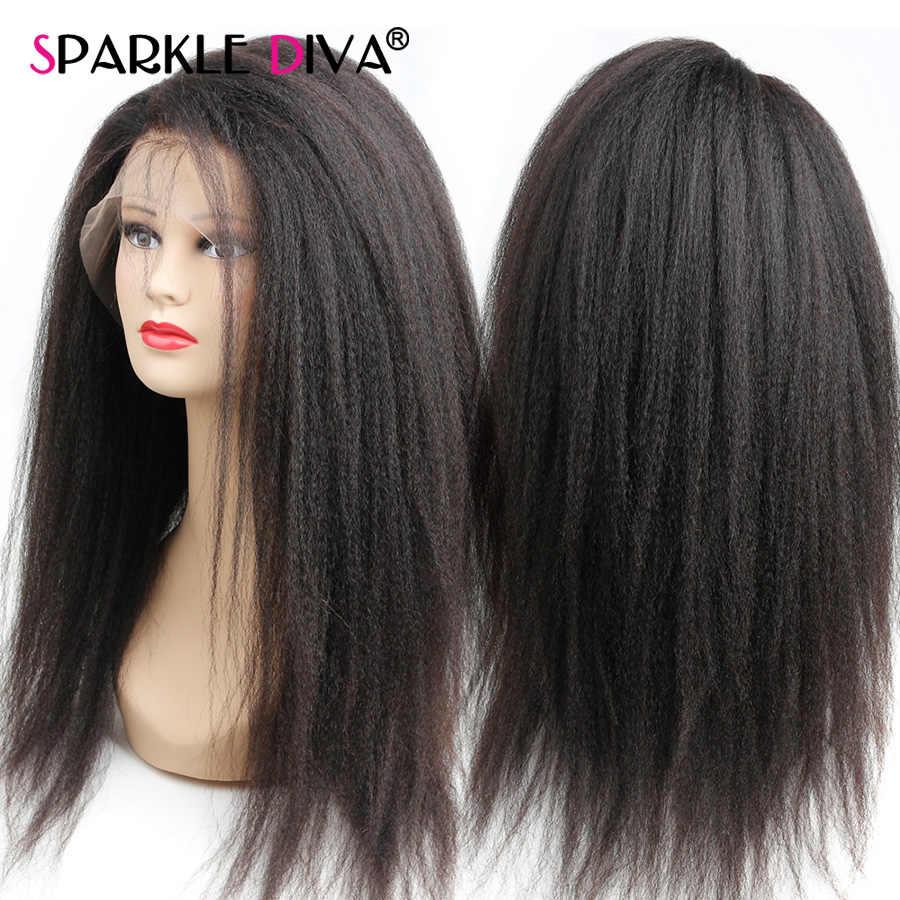 غريب مستقيم 360 الدانتيل أمامي خصلات الشعر المستعار الإنسان للنساء البرازيلي الايطالية ياكي الدانتيل الباروكة 8-24 ريمي الإنسان خصلات الشعر المستعار 150% الكثافة