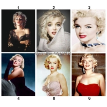 DIY Diamond Painting Marilyn Monroe Cross Stitch Needlework Rhinestone Mosaic 5D Diamond Embroidery Home Decor цена