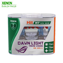 XENCN h7 55w 12V 3800K Dawn Light X-treme Vision Car Headlights Germany Tech Halogen Auto Bulbs Free Shipping New 2PCS(China)