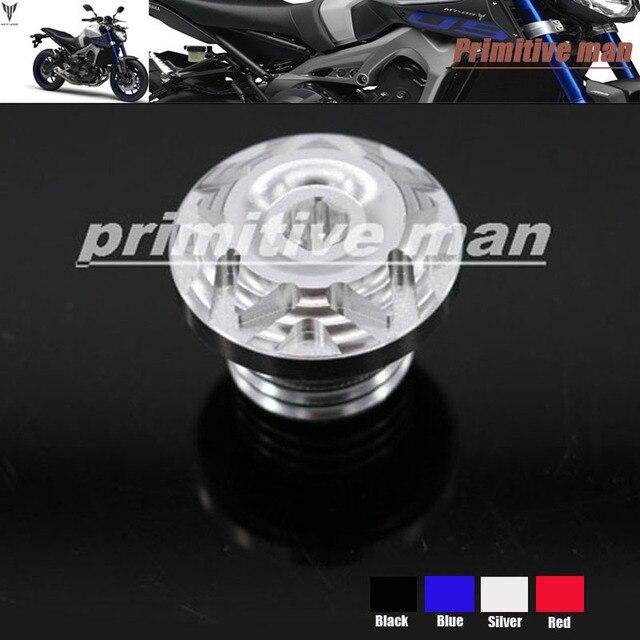 Для YAMAHA FZ-09 ФЗ 09 FJ-09 FJ09 MT 09 MT09 MT-09 Tracer Мотоцикл Маслозаливной Горловины Болт Винт Серебро