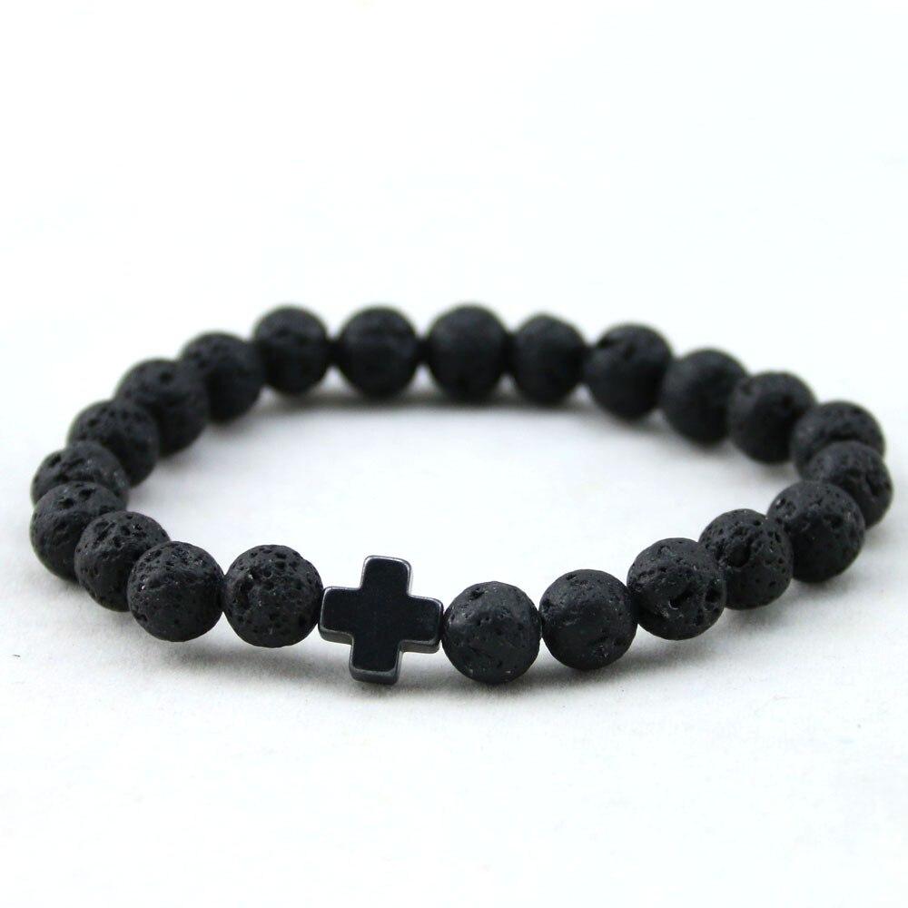 HTB1jnEDKFXXXXXkXXXXq6xXFXXXi - Unisex Lava Stone Style Beads Bracelet