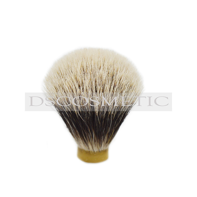 two band badge hair shaving brush knot brush head for shaving size20/64mm