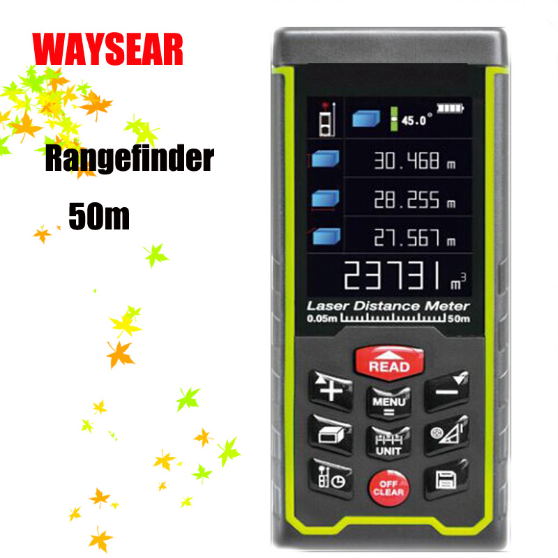 Handheld Laser rangefinder Range finder Laser distance meter tape 50M 70M 100M Digital Ruler Measure Angel Rechargeabel SW-S100 leter ms 80a 80 m laser rangefinder handheld range finder laser ruler