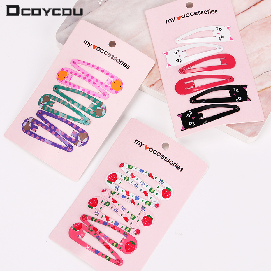 18PCS/3 Set Children Snap Hair Clips Barrettes Girls Cute Hairpins Colorful Headbands for Kids Hairgrips Hair Accessories 1pack 10pcs hair clips barrettes girls cute hairpins colorful headbands for kids hairgrips hair accessories
