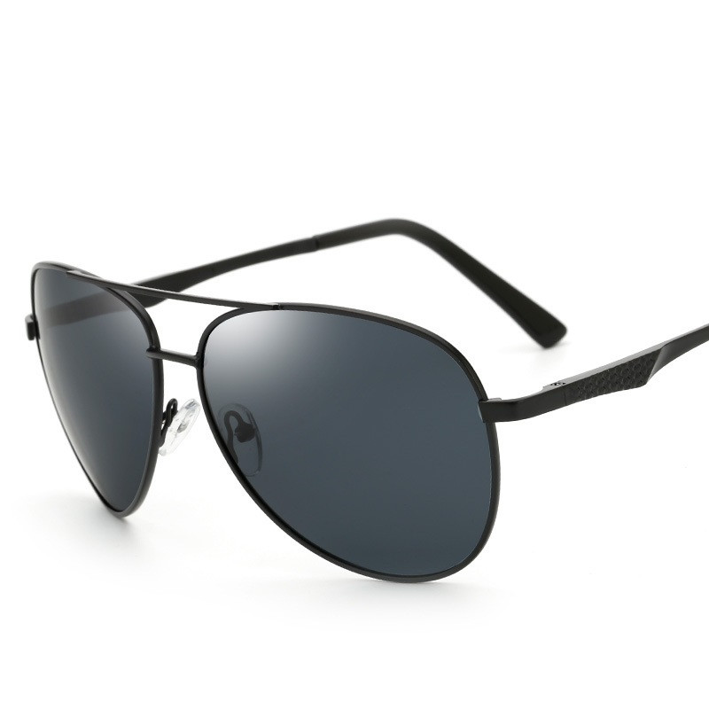CitySpiner Driving Polarized Light Sunglasses For Men Big Frame Outdoors Sports Pilot Round Sun Glasses Vintage Gafas OculosY156