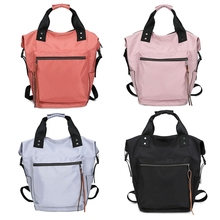 Mode femmes imperméable à leau multifonctionnel en Nylon sac à dos fourre tout sac à dos