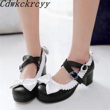 Новая модная женская обувь на высоком каблуке с круглым носком