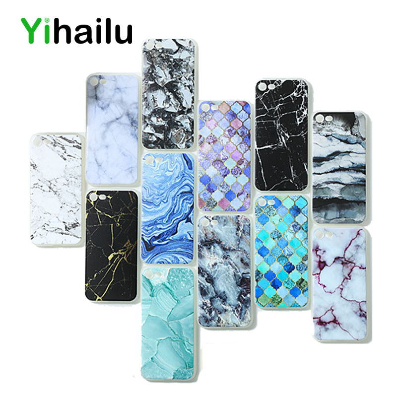 Marble Case For Apple iPhone 8 Case Soft TPU Back Cover For iPhone Xs Silicone Cases For iPhone 6 7 8 Plus 5 SE Xs Max Xr Caso