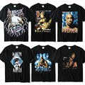 2 PAC T Shirt Dos Homens do Algodão 2 Pac Tshirt Tupac Amaru Shaku Justin Bieber 3D Imprimir Camiseta Kanye West Yeezy Gymshark Thrasher Tee