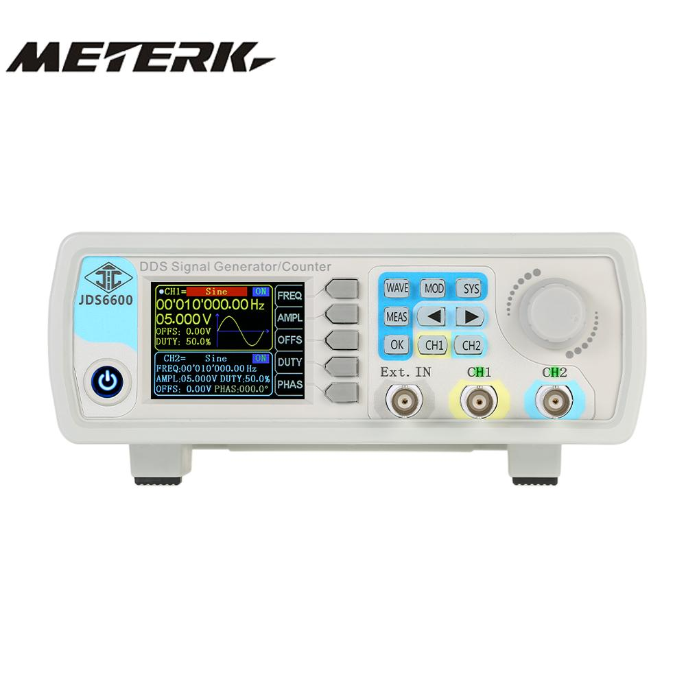High Precision Digital Dual channel DDS Function Signal Generator Arbitrary Waveform Pulse Signal Generator 1Hz 100MHz