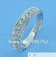 100% Sterling Silber 925 Ring Ehering Für Frauen Weihnachtsgeschenke Verlobungsring USA Europäische Ring