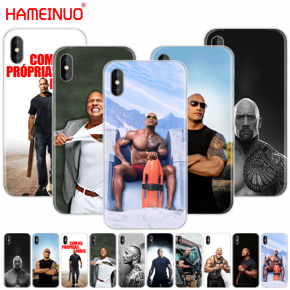 HAMEINUO The Rock Dwayne Johnson cell phone Cover case for