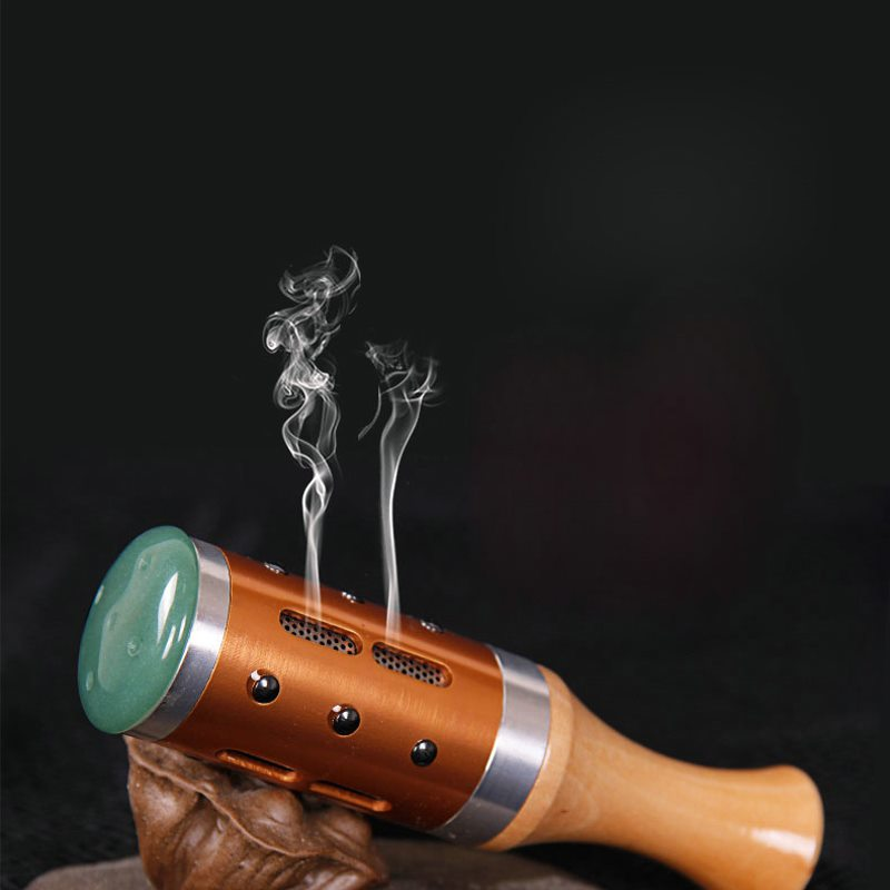 Stone Needle Stick Jade Massager Roller Scrollable Warm Moxibustion Moxa Cold In Uterus Face Eye Massage Body Tool Health 5pcs big moxa roller warm moxibustion with moxa stick special copper moxa roll burner stick body face massage body health care