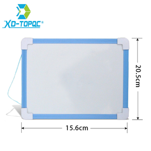20.5*15.6cm Magnetic Kids Whiteboard Dry Wipe Board 5 Colors Frame Mini Drawing White board Small Hanging Erase Boards With Pen