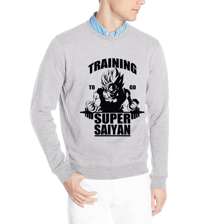 Fashion To Go Dragon Ball men harajuku hoody mma sweatshirt 2019 autumn new brand hoodies homme Super Saiyan casual tracksuit