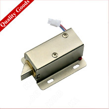 Small Size DC 24V Mini Electric Bolt Lock for Cabinet , Drawer etc.