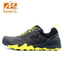 Merrto Running Shoes For Men Suede 2016 Breathable Sports Sneakers Man Outdoor Running Sneakers For Men Light Men Jogging Shoes