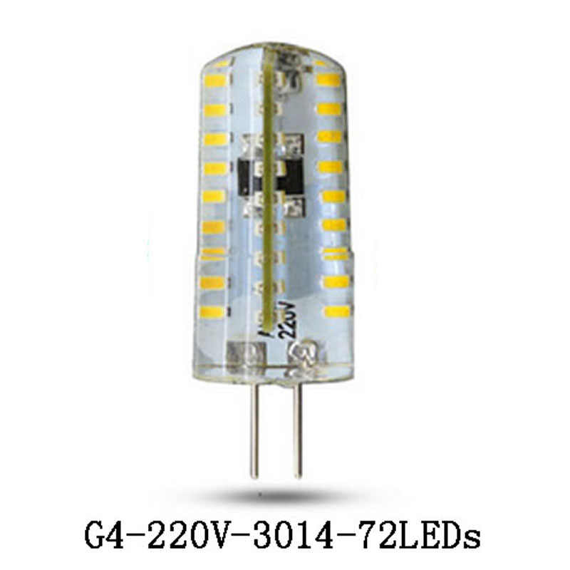 LED G4 Bulb Mini Corn Bulb AC 220V 24/48/64/72/120 LED Cold/Warm White 3W 6W 7W 9W 12W LED Can Replace 20W-80W Halogen Bulb