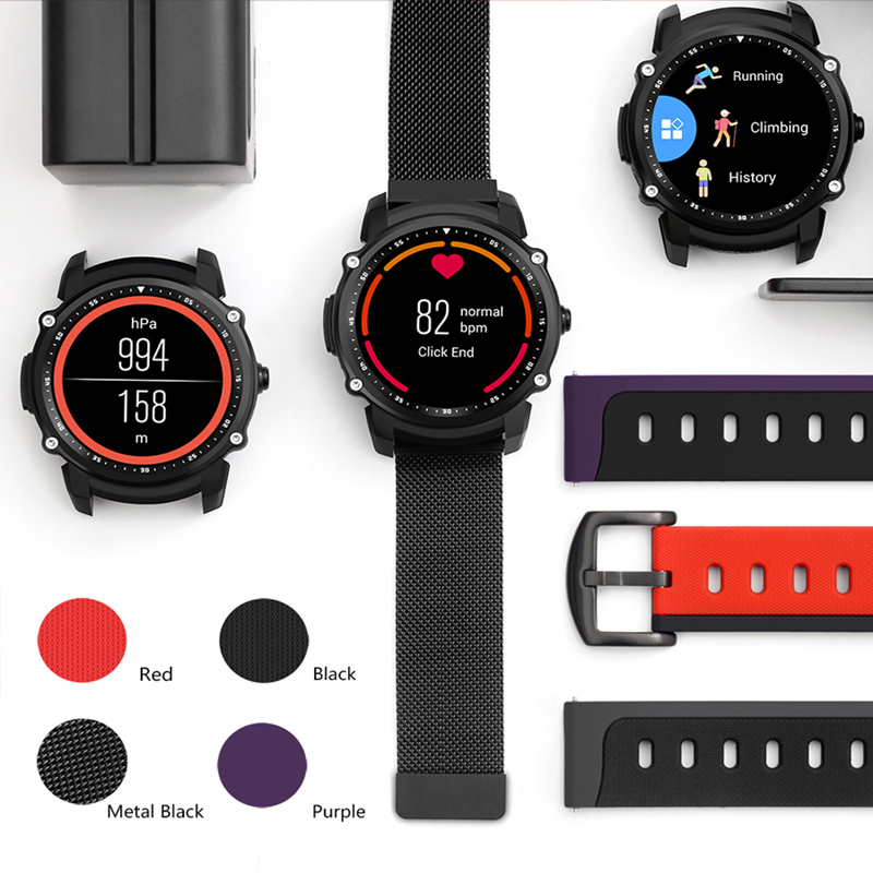 Smart Watch IP68 Heart Rate Monitoring Pressure Multi-sports for IOS Smart Watch Waterproof Android Sleep Track GPS цена