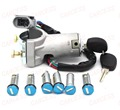 AL-057 IGNITION SWITCH BARREL DOOR LOCK SET 7PCS FOR IVECO DAILY 2000-2006 BRAND NEW