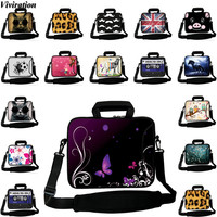 Viviration Newest Messenger Computer Shoulder Strap Bag Sleeve Laptop Notebook Cover Case 10 12 13 14