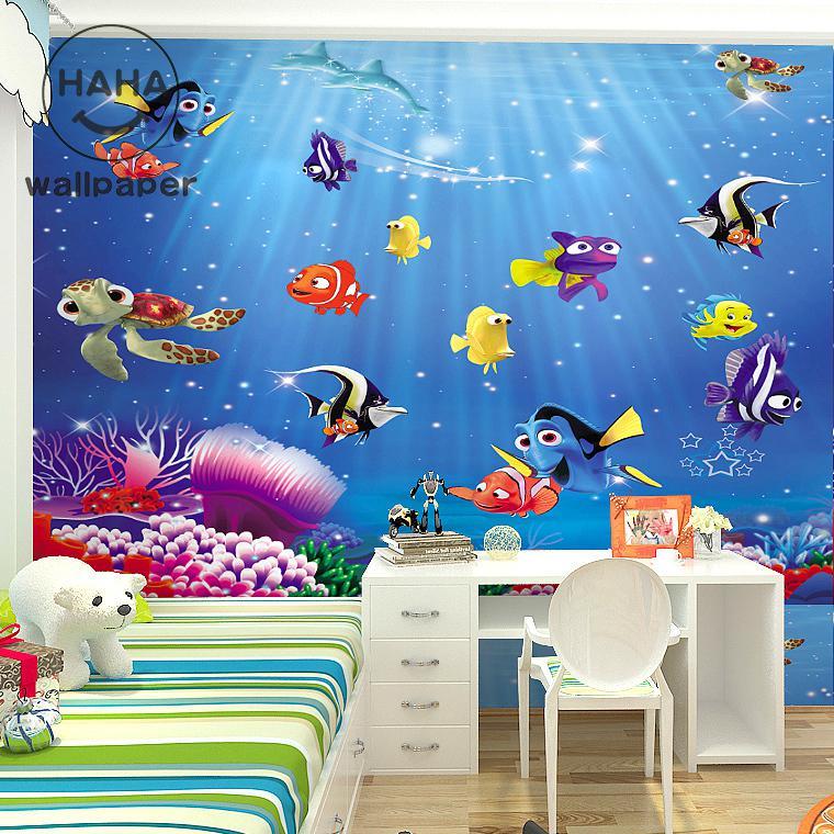 Freies verschiffen 3D cartoon kinderzimmer schlafzimmer ...