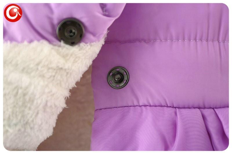 Winter Baby Girls Cartoon Rubbit Coat Thicken Kids Girl Snow Jacket Fleece Hooded Cotton Padded Outwear Christmas Clothes 2016 (13)