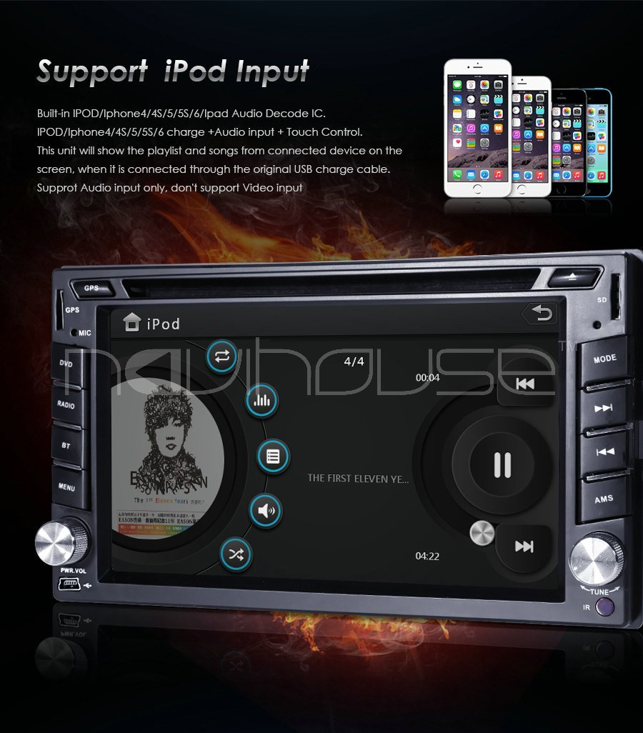Navihouse hd gps navigation dual 2din car stereo dvd player navihouse hd gps navigation dual 2din car stereo dvd playerbluetoothipod mp3 3g rear view camera dvbt dab swc dvr rds fmam sd in car multimedia player asfbconference2016 Gallery