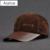HL022 bonés de beisebol dos homens de couro Genuíno couro Nobuck nova marca esporte chapéus de golfe com 3 cores